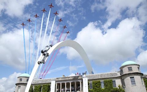 If it flies, drives or hangs in the sky, it was at Goodwood.