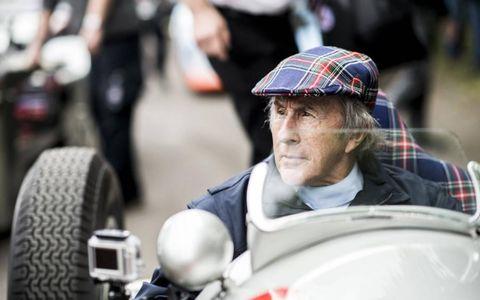 Sir Jackie Stewart was among the luminaries.