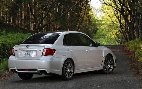2011 Subaru Impreza WRX STI TS