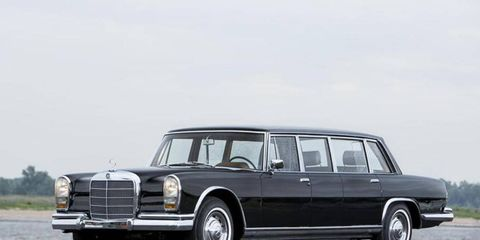 This 1965 Pullman spent a lot of its life in China.