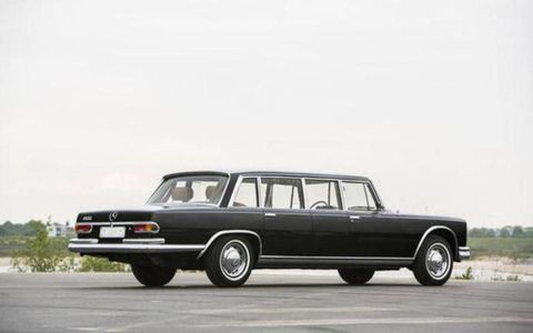 This Pullman was kept in the Foreign Ministry motor pool, and accumulated just 13,148 miles.