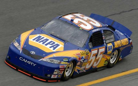 Toyota Camry makes its Cup Series debut, at Daytona on Feb. 18, 2007.