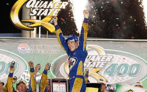 Brad Keselowski has three wins in the Cup Series after his win on Saturday night in Kentucky.