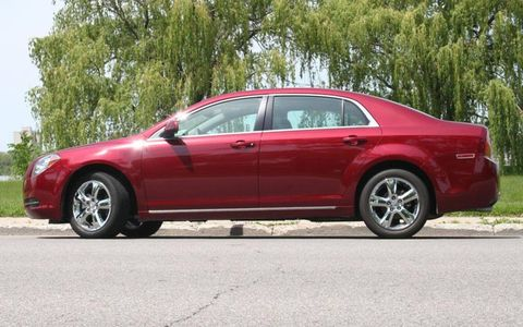Driver's Log Gallery: 2010 Chevy Malibu 2LT