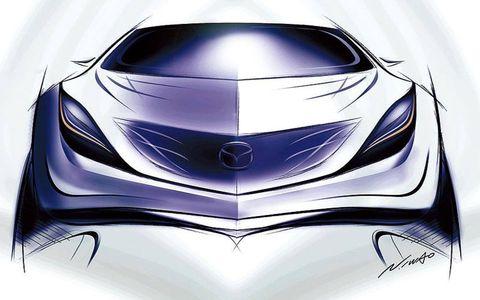 Automotive design, Automotive lighting, Headlamp, Light, Logo, Hood, Electric blue, Automotive light bulb, Design, Luxury vehicle,