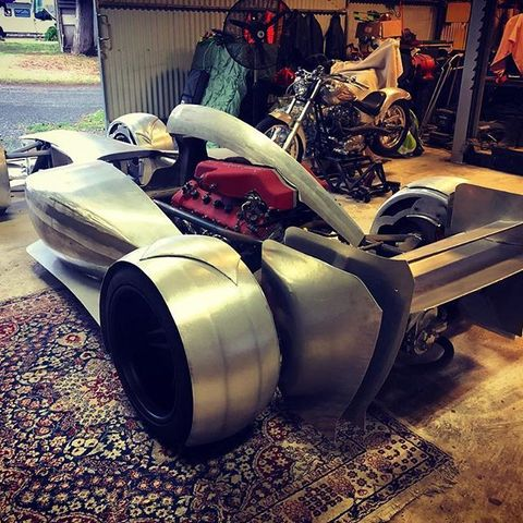 The Zacaria is about as close as you can get to a street-friendly Formula One car.