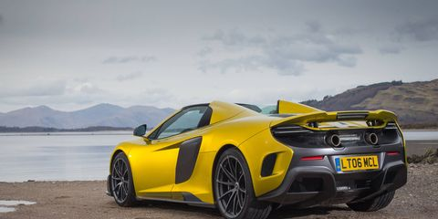 The McLaren 675LT Spyder is without a doubt, one of the best cars we drove all year.