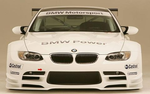 ALMS BMW M3 coupe