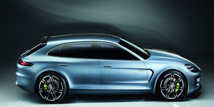 The Panamera station wagon was shown in concept form at the 2012 Paris motor show.