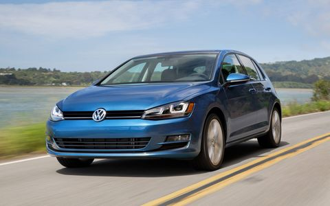 The 2015 Volkswagen Golf 1.8T S 4-Door looks better outside than it does in photos.