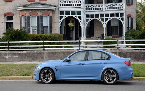 Long-term 2015 BMW M3