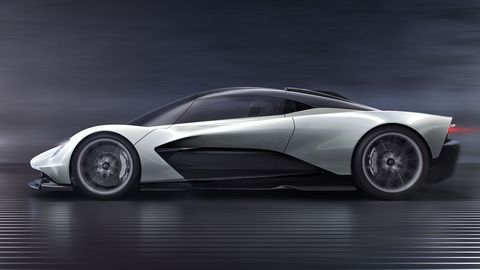 The Aston Martin AM-RB 003 is the third midengine hypercar by the company.