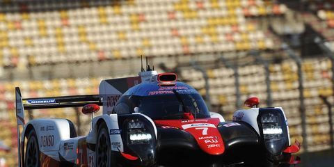 The No. 7 TS050 Hybrid was qualified by Mike Conway and Kamui Kobayashi.