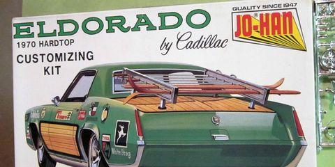 Jo-Han 1970 Cadillac Eldorado model kit on eBay.