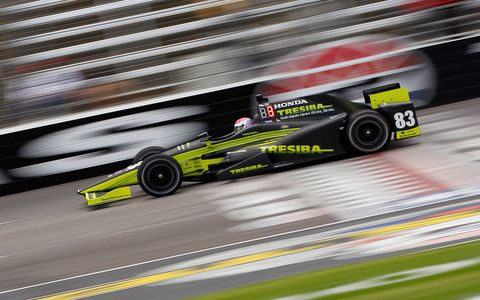 Sights from Friday's IndyCar action at Texas Motor Speedway.