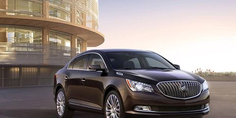 Introducing the new, toothier, 2014 Buick LaCrosse.