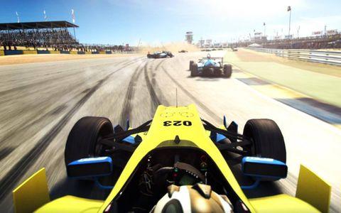 GRID Autosport at the Jarama Circuit in Spain.