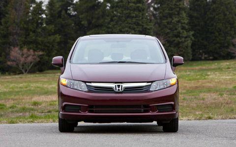 2012 Honda Civic EX-L Navi sedan