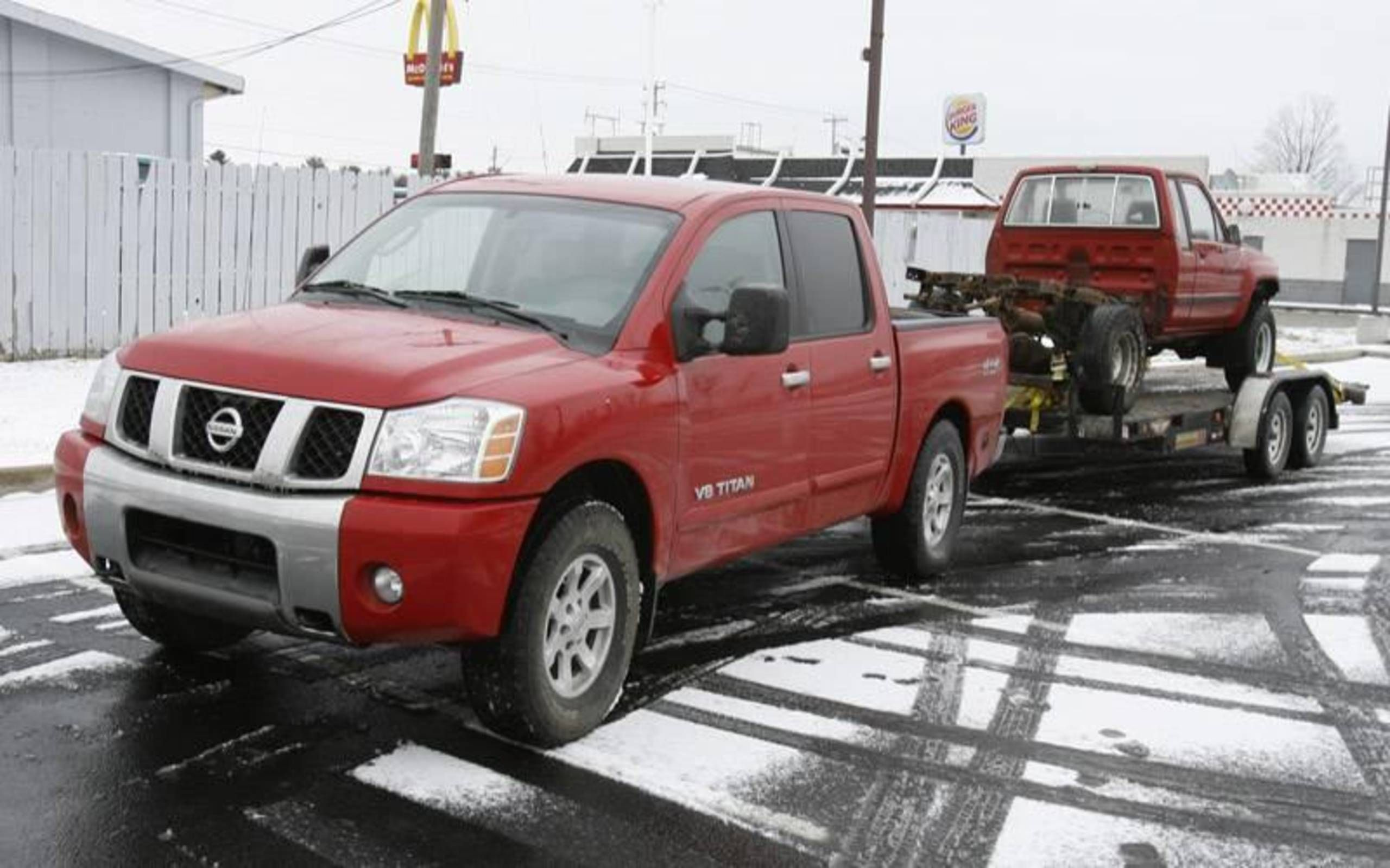 2007 Nissan Titan 4x4 Se Tough Truck
