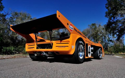 The McLaren M20 dates to a time when outrageousness ruled the world.