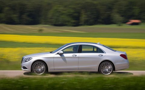 For a car as heavy as the S-class, a claimed 0-62 mph time of 4.8 seconds is not bad at all.