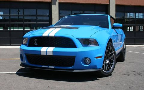 Driver's Log Gallery: 2010 Ford Shelby GT500 Convertible
