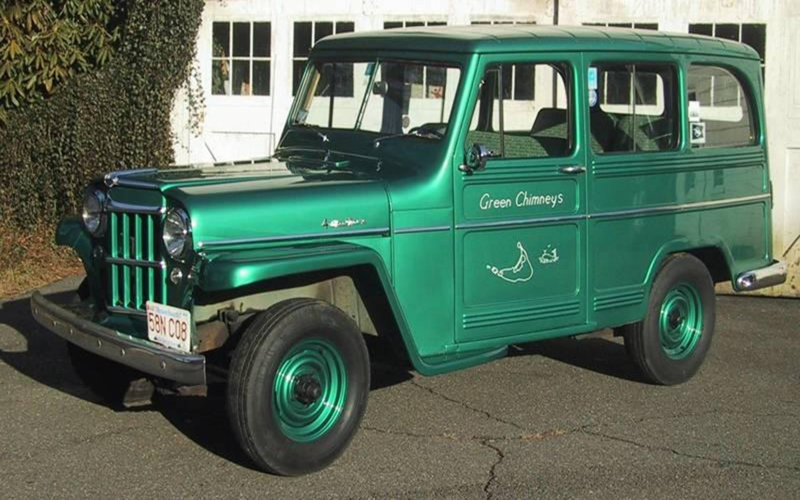 1960 Willys Four Wheel Drive Station Wagon Your Great Grandfather S Suv