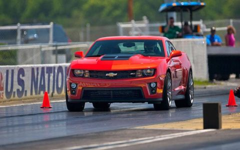 If drag-racing is your bag, the Camaro with the automatic is the way to go.
