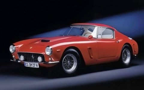 The famed designer was involved with several iterations of the Ferrari 250 GT, including this 1960 SWB Berlinetta.