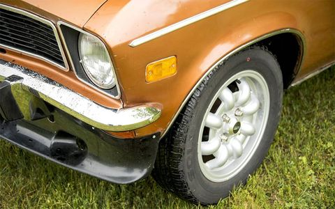 Opel 1900 detail