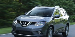 The 2014 Nissan Rogue SV comes in at a base price of $26,780 with our tester reaching $29,485.