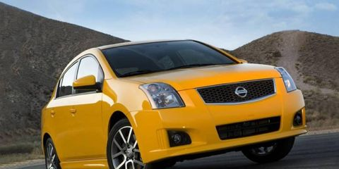 Nissan's stacking its new Sentra SE-R and SE-R Spec V against the likes of the GTI, Cobalt SS and Mazdaspeed 3.