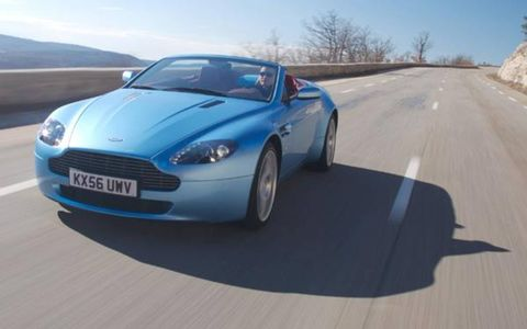 One of the best things about driving the Roadster with the top down is that it allows you to hear the 4.3-liter V8 roar. That engine makes the same 380 hp and 302 lb-ft of torque as it does in the Coupe, but here it is less muffled to the driver's ears. Stomp on the gas, and the resonance induction system on top of the engine combines with the now-open bypass valves of the exhaust to produce a suitably mighty echo across the limestone walls of Provençal canyons and off the stacked flat-stone houses of ancient villages.