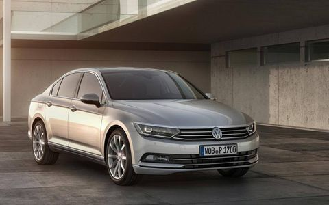 Volkswagen unveiled its new for 2015 Passat late last week.