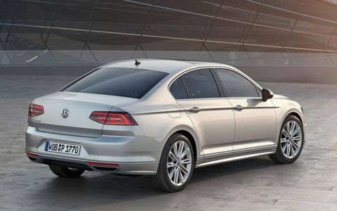 The 2015 Passat offers a preview of what the American Passat will most likely look like.