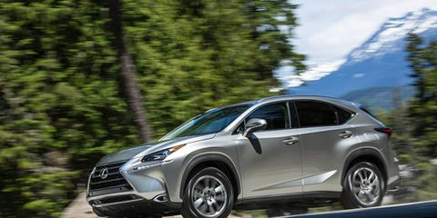 The NX marks Lexus's first compact crossover, slotting below the suburbanite's RX.