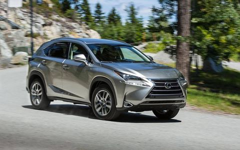 The NX200t has a 2.0-liter turbocharged engine with 235 horsepower and 258 lb-ft of torque.