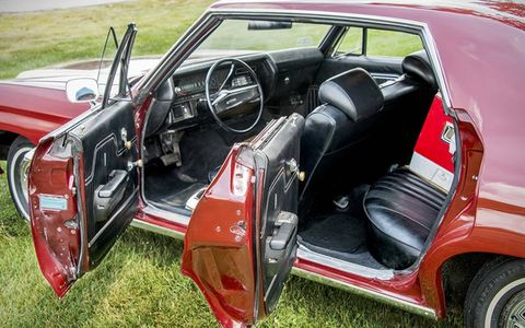 A four door coupe decades before they came into vogue