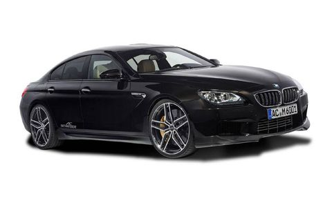 AC Schnitzer tuned up the BMW M6 to 620 hp.