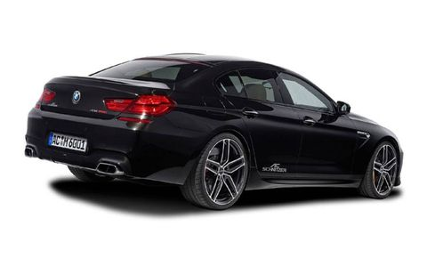 AC Schnitzer adds a load of aero parts to the M6.