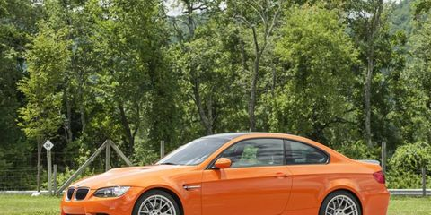 The V8 in the M3 makes 414 hp and 295 lb-ft of torque.