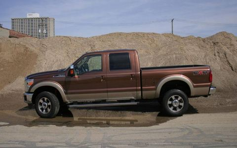 Driver's Log Gallery: 2011 Ford F-350 Super Duty Lariat Crew Cab