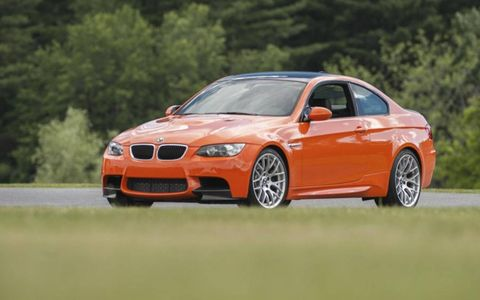 Sports-car driver Bill Auberlen, who has driven more than 300 races in the M3, joined Barber and Lime Rock management at the track to shake down the ride.