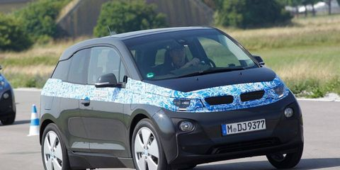 The i3 is BMW's first i brand model