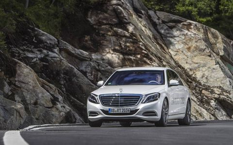 The starting price for S550 Plug-In will be close to $100k.