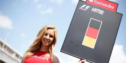 There were plenty of good candidates for the Grid Girl All-Star Team from the Spanish Grand Prix.