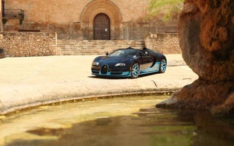 Another aspect that wins respect is the way that the Bugatti seems to shrink around you. From the low-set driver's seat the car feels significantly smaller than the external dimensions suggest.