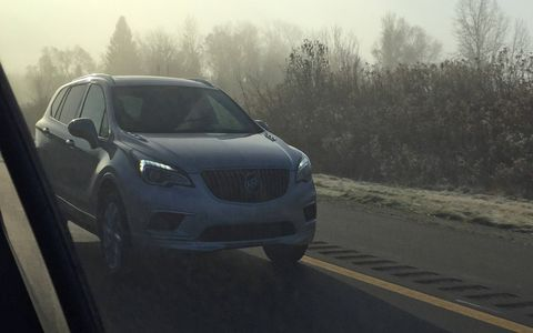 The Buick Envision will be offered with a turbocharged 2.0-liter four-cylinder producing 252 hp.