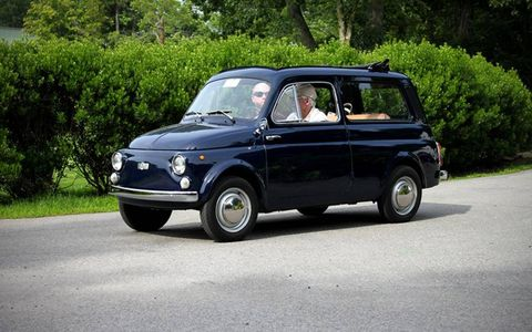 A longer version of the Fiat 500 basically