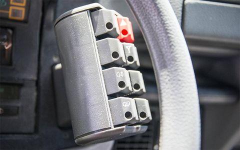 The famous controls in the Citroen GSA